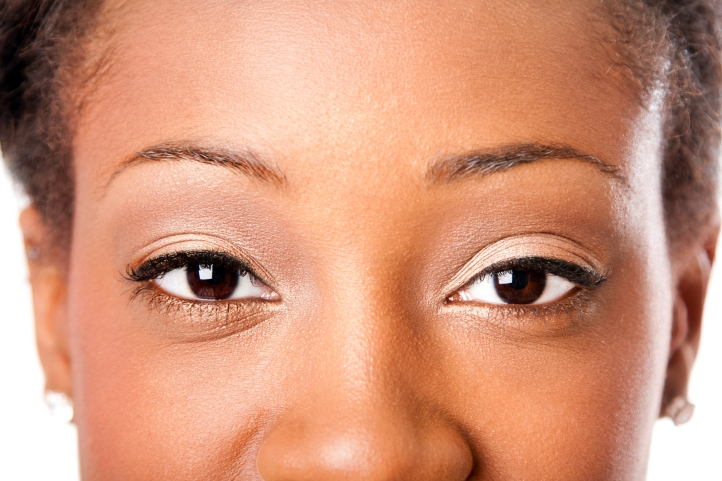 African beauty eyes